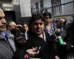 DYN01, BUENOS AIRES, 29/07/3013, LOS METRODELEGADOS LLEGAN AL MINISTERIO DE TRABAJO DEL GOB DE LA CIUDAD. FOTO:DYN/LUCIANO THIEBERGER.