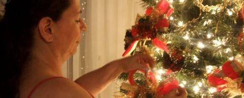 Muchas veces las mujeres cargan en navidad con tareas predeterminadas.