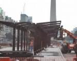 Realizan nuevas obras en el Metrobus.