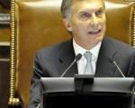Macri abrió el viernes las sesiones legislativas.