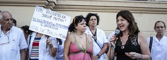 Laura Schargrodsky detalló la problemática de los médicos porteños.