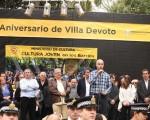Los vecinos de Villa Devoto celebraron su 125 aniversario.
