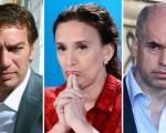 Tres candidatos encabezan las encuestas.