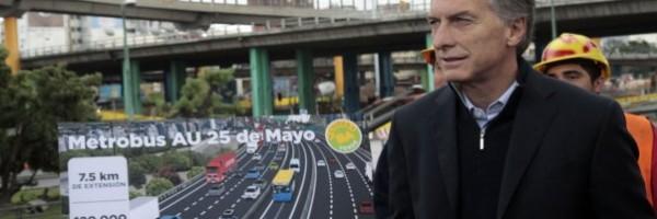 Mauricio Macri presentó el proyecto.