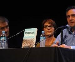 Presentaron en la Feria del Libro la editorial Octubre.