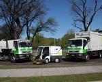 La Ciudad incorpora un nuevo servicio de limpieza.
