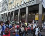 Estudiantes reclamarán por las malas condiciones de la institución.