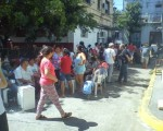 Feria de productores en el Riachuelo.