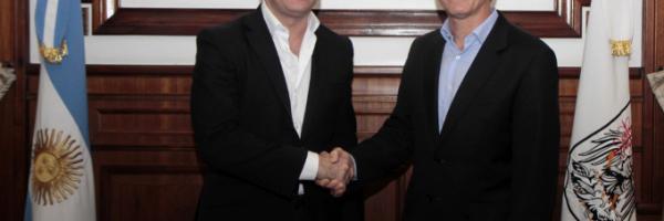 Macri participó de la carrera de Fórmula E.