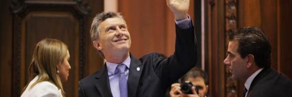 Macri abrió las sesiones el pasado domingo.
