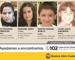 Varios niños continúan desaparecidos.