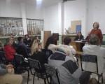 Reunión en la Comuna 5.