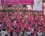 Multitudinaria maratón en Palermo.