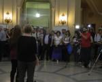 Muestra fotográfica en la Legislatura.